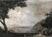 vedute del lago di garda (+ 11 others; 12 works) by domenico macanzoni