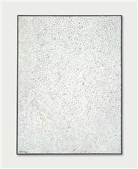 white no. 28 by yayoi kusama