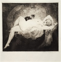 siesta by norman alfred williams lindsay