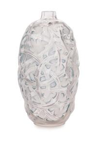 ronces vase by rené lalique