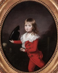 portrait of a young boy by francis alleyne