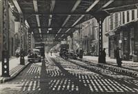 brooklyn el, new york by ellen auerbach