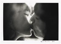 le baiser by helmut newton