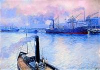 pejzaż portowy by soter jaxa-malachowski