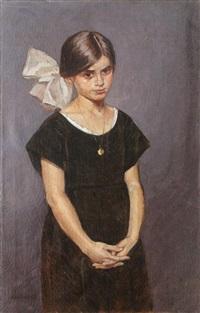 fetiţă cu fundă albă by emil lenhardt
