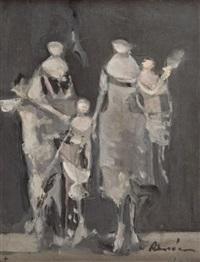 grupa postaci by alfred aberdam