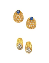 earclips (2 pairs) by gucci (co.)