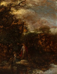 finding baby moses by jacob jacobsz de wet the younger