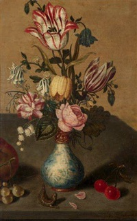 bouquet de fleurs by ambrosius bosschaert the younger
