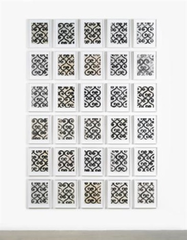untitled in 30 parts by christopher wool