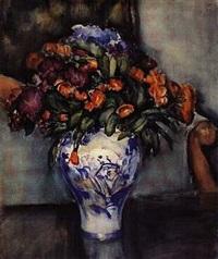 jesienne kwiaty by stanislaw filipkiewicz