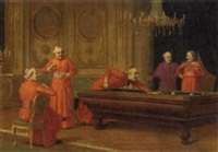 a game of billiards by jacques alsina