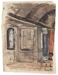 interieur by lovis corinth