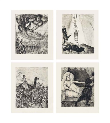 bible portfolio of 105 by marc chagall