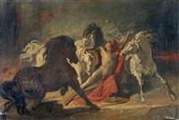 diomède dévoré par ses chevaux by théodore géricault