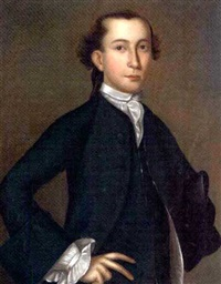 portrait of isaac jones by joseph badger