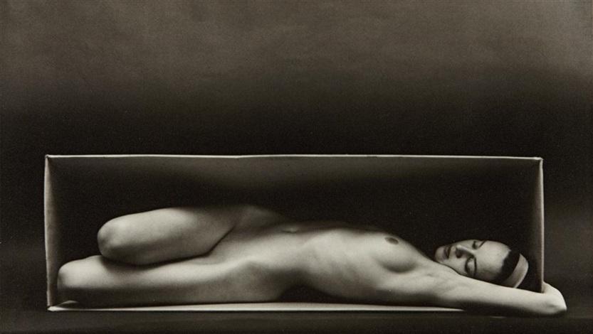 in the box (horizontal) by ruth bernhard