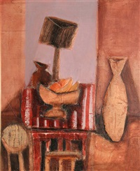still life with fruit by arthur armstrong