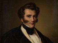 gentleman's portrait by benjamin orth