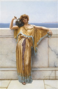 clymene by john william godward