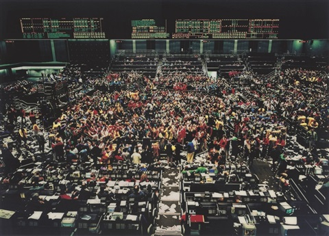 chicago board of trade by andreas gursky