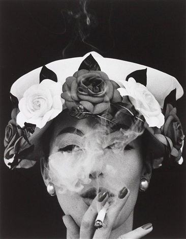 hat 5 roses paris vogue by william klein