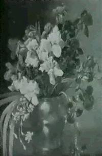 stilleben mit iris by ludovica kabell-rosenorn