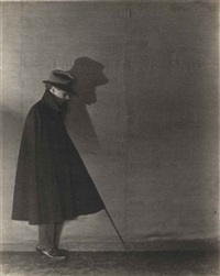 edward weston in shadow by margrethe mather