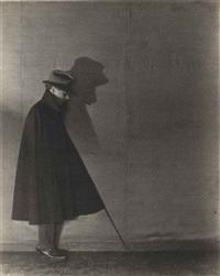 edward weston in shadow by margrethe mather
