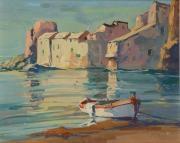 corse, le port d'erbalunga by pierre bach