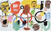 olympics by jean-michel basquiat and andy warhol