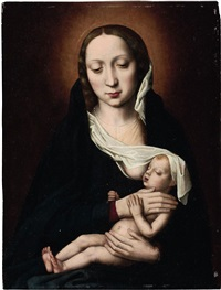 the holy virgin and child by ambrosius benson