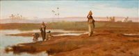 porteuses d'eau, egypte by frederick goodall