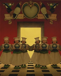the knave of hearts: the six little ingredients by maxfield parrish