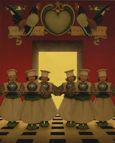 the knave of hearts the six little ingredients by maxfield parrish