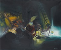 composition by chu teh-chun