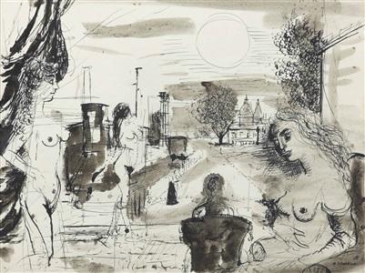 artwork by paul delvaux