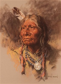 indian chief by harley brown