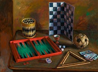 games table by margaret hannah olley
