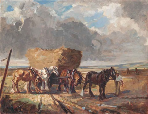 collecting the hay by lucy elizabeth kemp welch