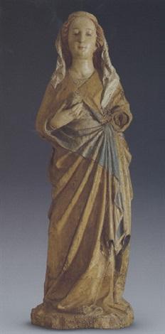 stehende weibliche heilige by hans multscher