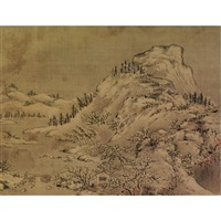 scenes of the seasons (album of 8) by xu zhang