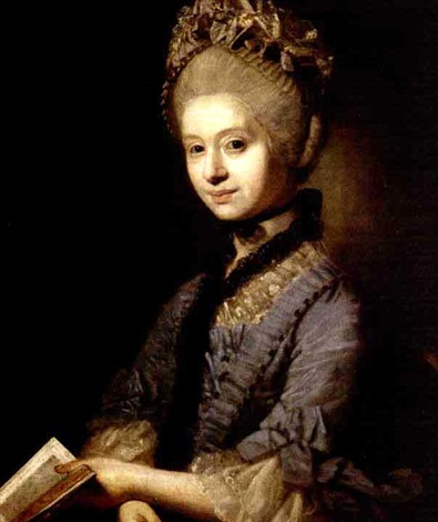 portrait of a lady by johann joseph zoffany