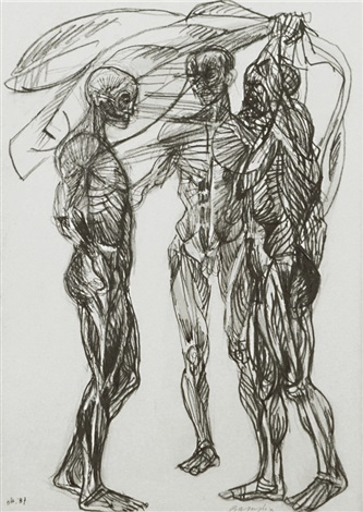 corpi study by vittorio basaglia