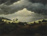 landscape with mill by elbert hooijberg