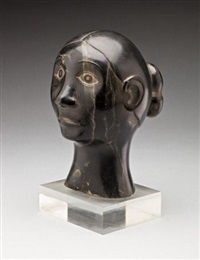 head of a woman by jamasee mike
