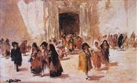 saliendo de la iglesia by emilio alvarez díaz