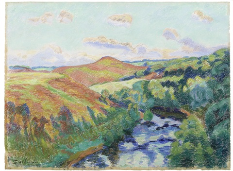 le puy barriou paysage de la creuse by armand guillaumin