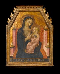 the madonna and child by bartolo di messer fredi