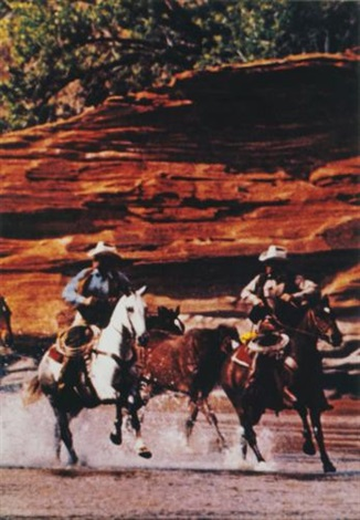 untitled cowboys by richard prince